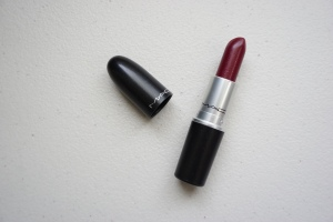 This my favourite burgundy or deep red lipstick.