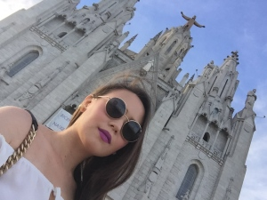 There's something fun about Barcelona. Just like this vibrant purple lippie.