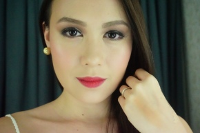 Holiday Look: Glitters!