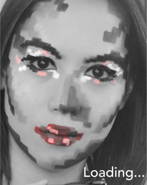 Halloween 2016: Pixel Makeup (video)