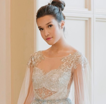 Sweet debut makeup fit for a debutante